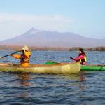 Hakodate Onuma kayak canoe water sightseeing tour taxi cab,